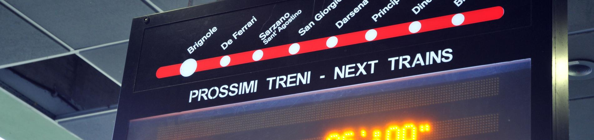Timeline del BICIPLAN di GenovaMetropoli